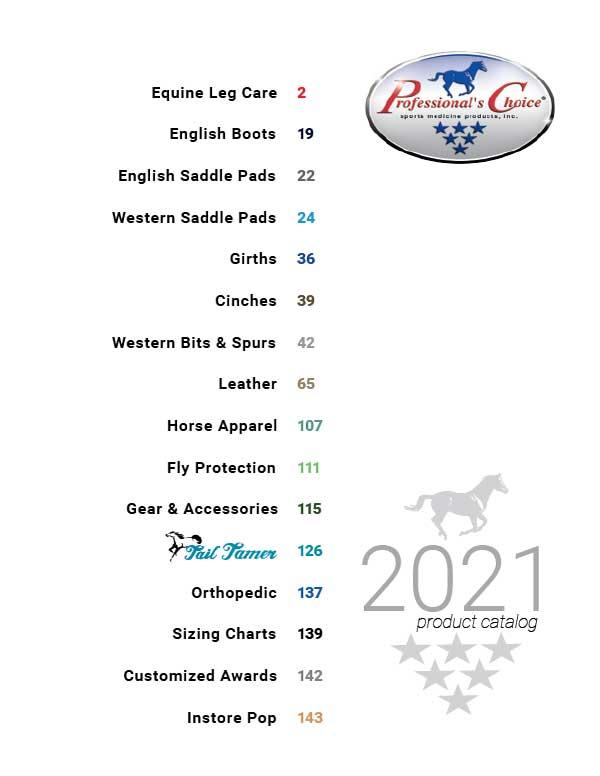 Professionals Choice katalog 2021 framsida